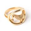 Aukso žiedas su briliantais Atradimas, YURGA
