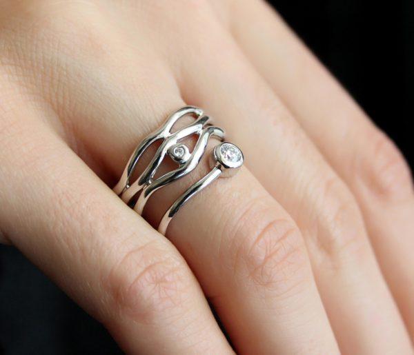 Žiedas Karūna