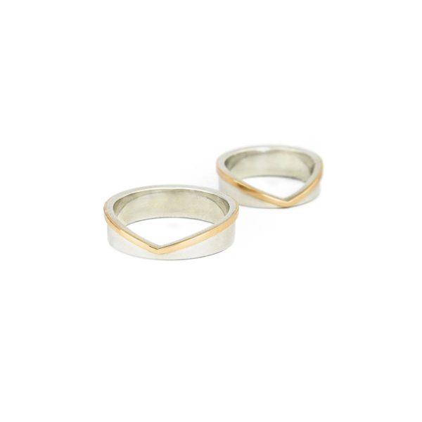 Vestuviniai žiedai Meilės laiškas