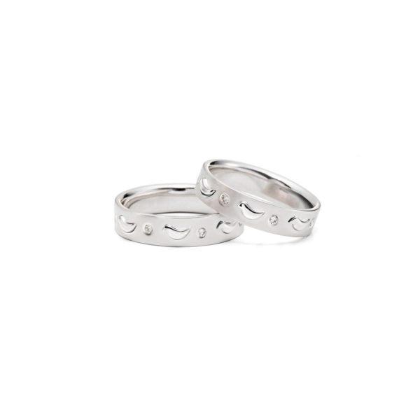 Vestuviniai žiedai Pasivaikščiojimas