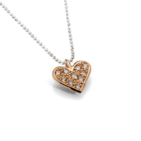 Auksinė širdelė su briliantais, YURGA