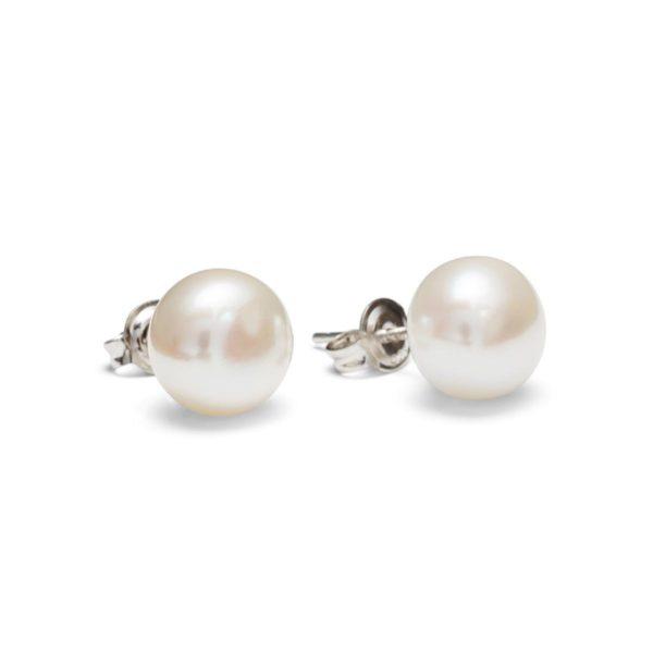 Baltųjų perlų auskarai