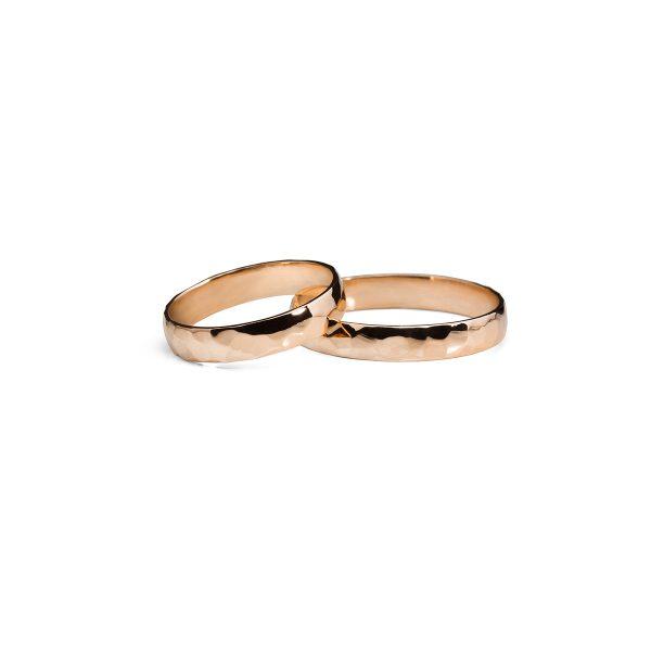 Kalinėti Rankomis Vestuviniai Žiedai