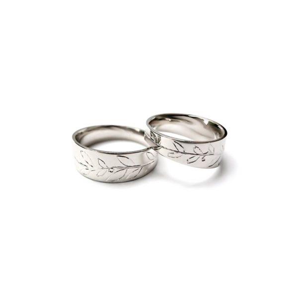 Vestuviniai žiedai Laurai
