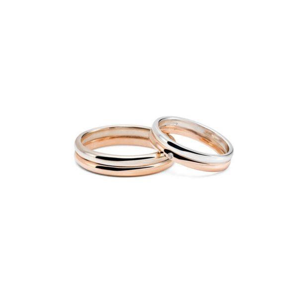Vestuviniai žiedai Dviese