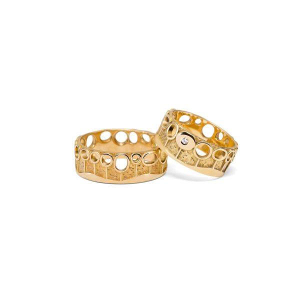 Vestuviniai žiedai Sodai