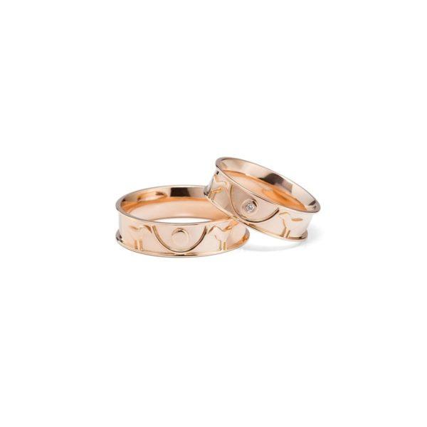 Vestuviniai žiedai Taurė