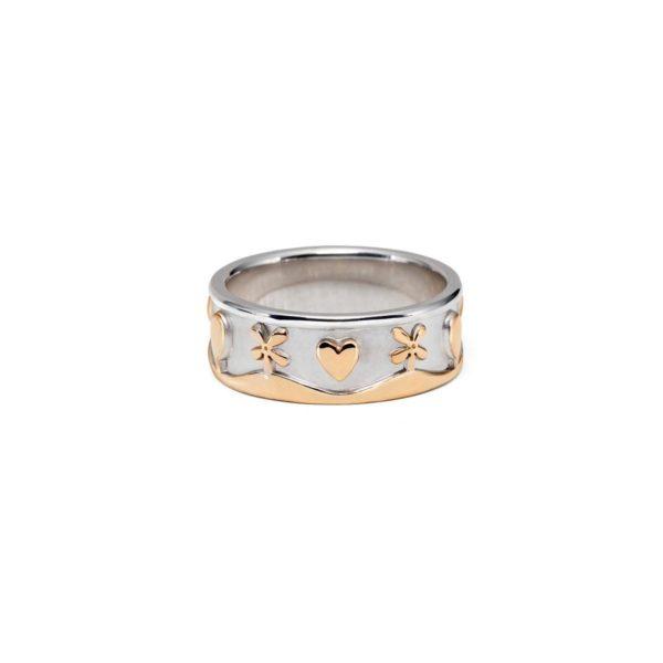 Vestuviniai žiedai Rojaus paukšteliai