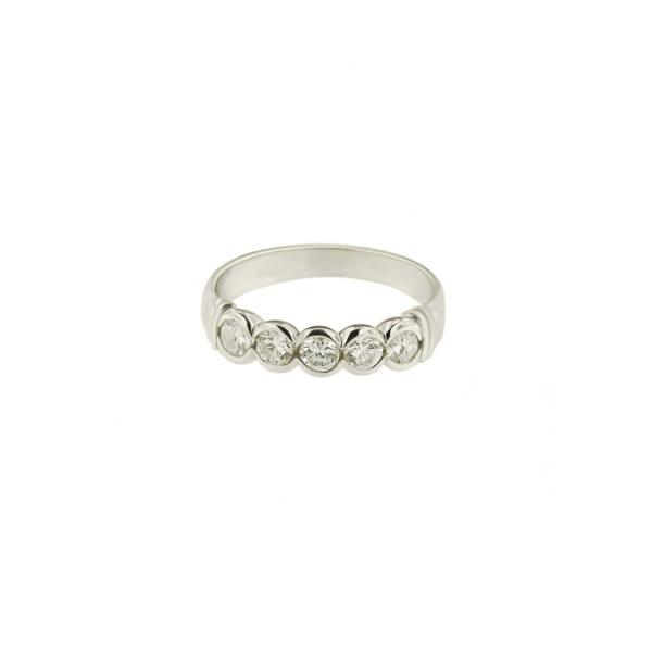 Sužadėtuvių žiedas su briliantais YURGA