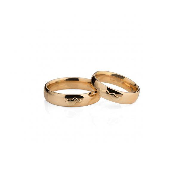 Rankų darbo Vestuviniai žiedai YURGA
