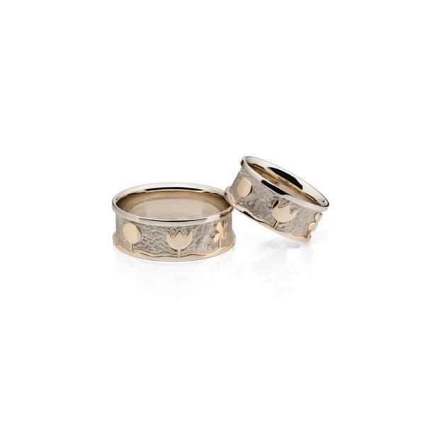 Vestuviniai Žiedai Žydinti Pieva YURGA