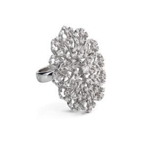 Aukso žiedas Guboja su briliantais