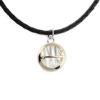 Individualus, vyriškas, rankų darbo aukso amuletas, YURGA